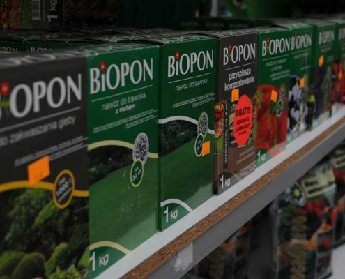 nawóz do trawnika lubelskie Biopon Migrola